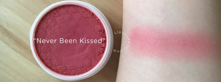 Never Been Kissed blush colourpop