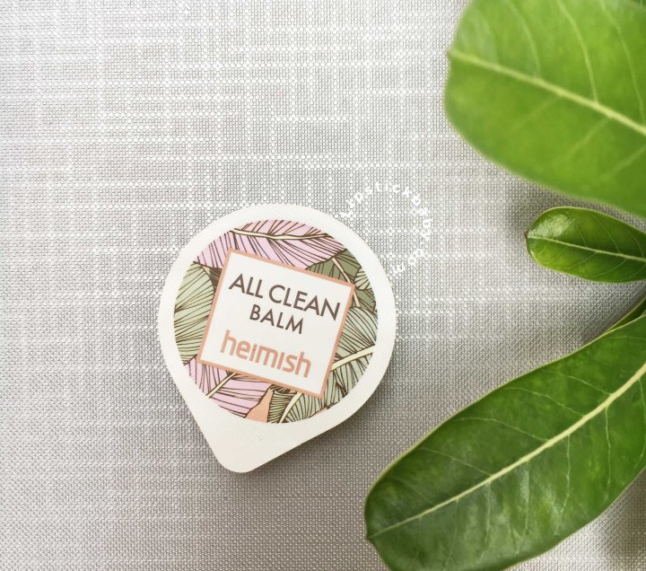 Heimish All Clean Balm Mini Review untuk Kulit Berminyak & Prone to Acne [Bahasa]