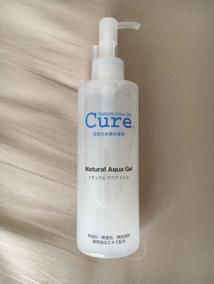 cure aqua gel review bahasa