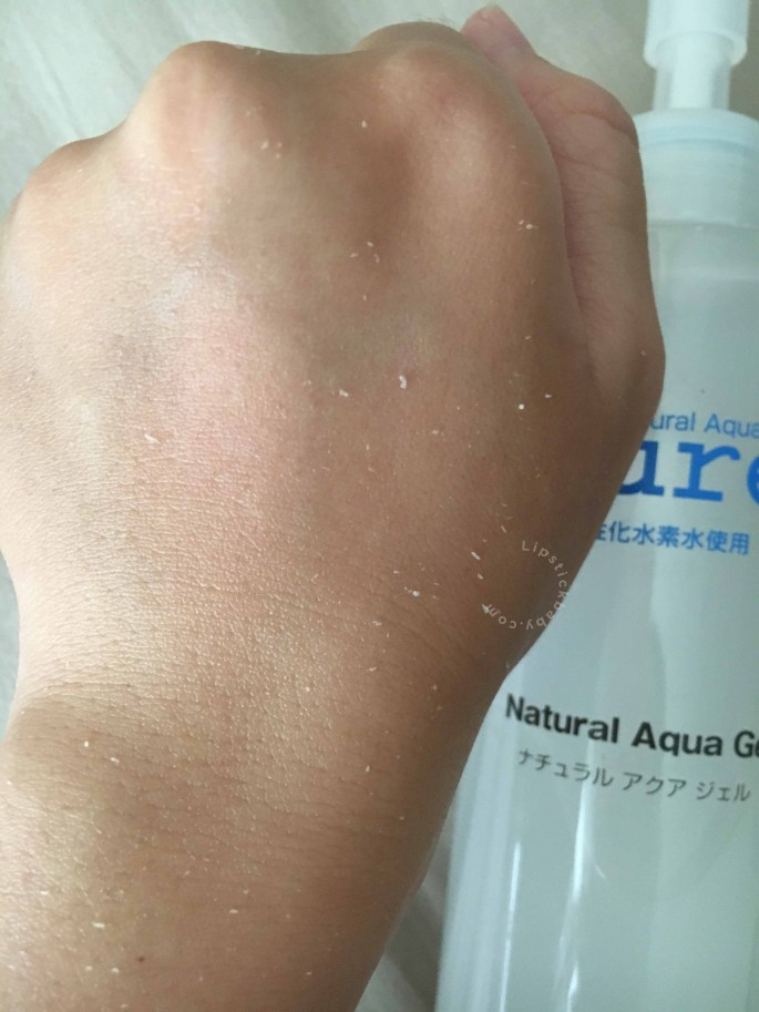 cure aqua gel review bahasa3