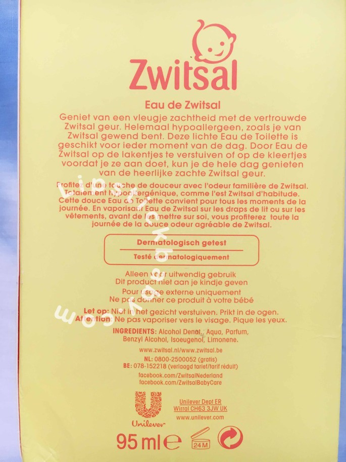 Boks Eau De Zwitsal review bahasa indonesia