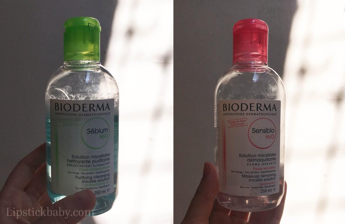 Bioderma Sebium & Sensibio Micellar Water: Pilih yang Mana?