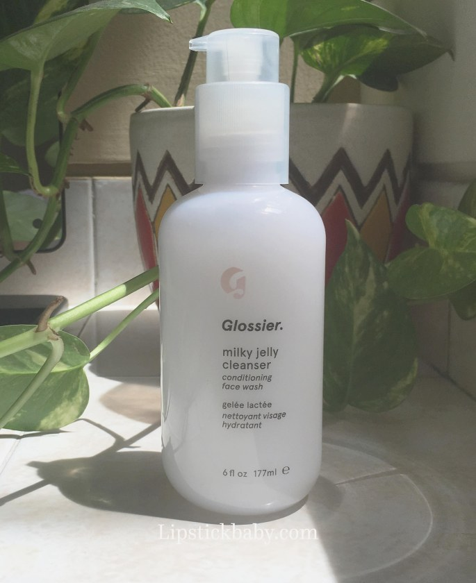 Glossier Milky Jelly Cleanser product